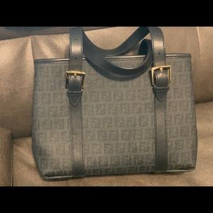 Authentic Vintage Fendi Bag with Top Handles